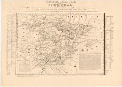 Mapa Agrícola [de España]