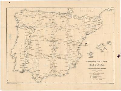 Red Geodésica de 1er. orden de España