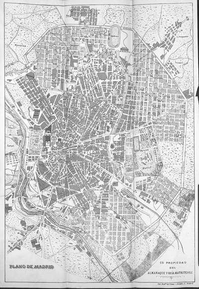 Almanaque y guía matritense : año de 1911