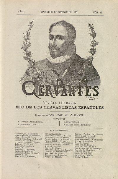 Cervantes : revista literaria