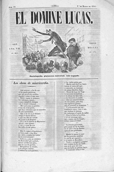 El Domine Lucas : enciclopedia pintoresca universal
