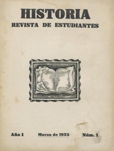 Historia : revista de estudiantes