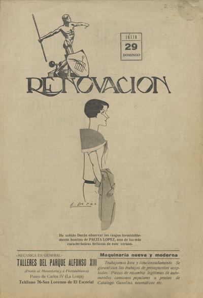 Renovación : semanario defensor de los intereses de San Lorenzo y su partido