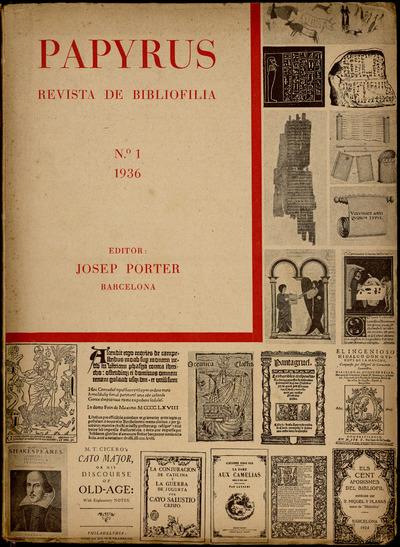 Papyrus : revista de bibliofilia
