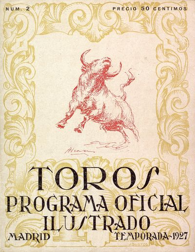 Toros : programa oficial ilustrado