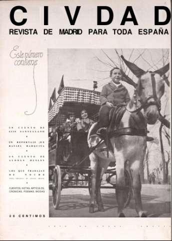 Civdad : revista de Madrid para toda España: Número 9 - 20 febrero 1935