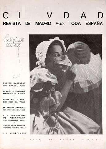 Civdad : revista de Madrid para toda España: Número 10 - 27 febrero 1935