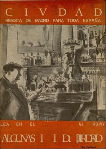Civdad : revista de Madrid para toda España: Número 18 - 24 abril 1935
