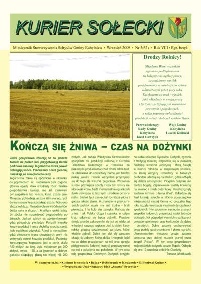 Kurier Sołecki, 2009, nr 5 (62)