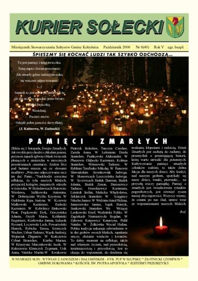 Kurier Sołecki, 2006, nr 6 (40)