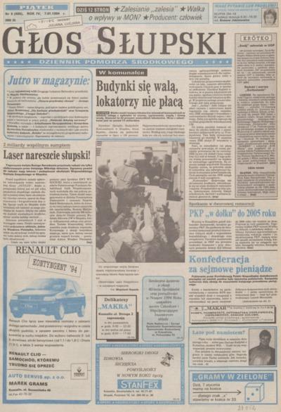 Głos Słupski, 1994, styczeń, nr 5