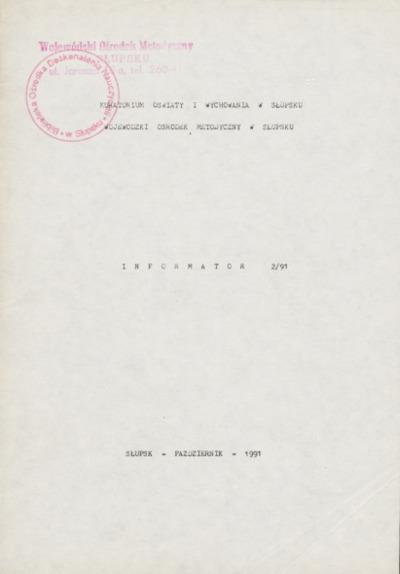 Informator, 1991, nr 2