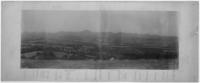 Vue de la Chaîne des Puys de Louchadière à Combegrasse