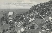 Latour-d'Auvergne, pendant la Messe sur la montagne de Natzy, le Jour du pélerinage