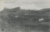Rocher et village de Bredon, près Murat