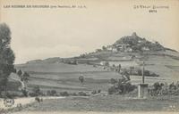Ruines de Recours (près Beaulieu), Alt[itude] 735 m [Les]