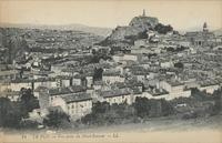 Le Puy.-Vue prise du Mont-Ronzon