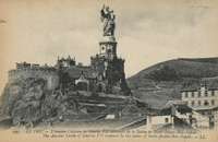 Le Puy. L'ancien château de Charles VII