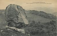 Roche branlante du Deveix, près Rochefort-Montagne