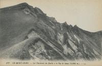 Le Mont-Dore.-Les Cheminées du Diable et le Puy de Sancy (1886 m.)
