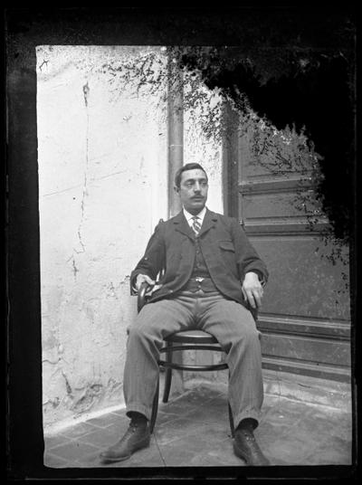 Retrato de un caballero sentado