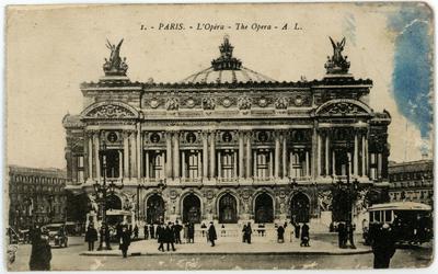 Paris. - L' Opéra - The Opera - A. L.