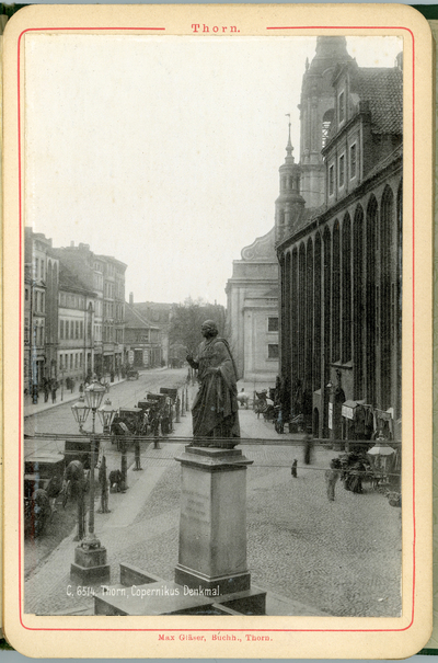 Toruń, pomnik Mikolaja Kopernika