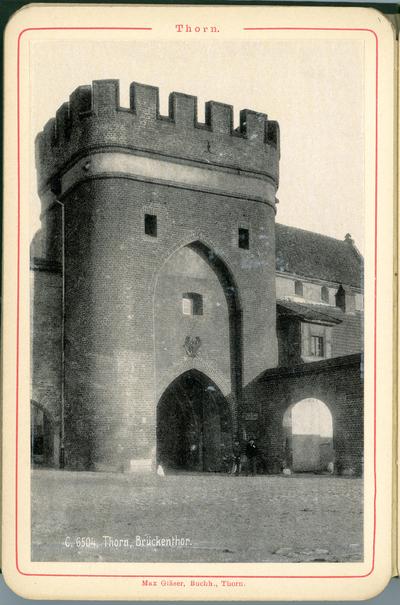 Toruń, Brama Mostowa