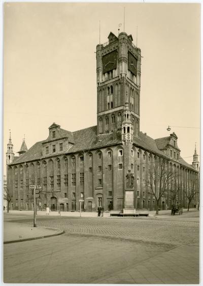 Thorn. Rathaus von Sȕdostern