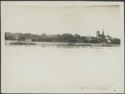 Panorama Torunia od strony Wisły