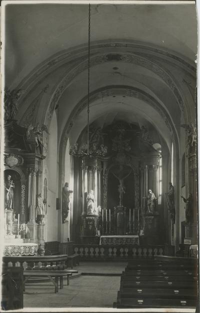 Wnętrze Kościoła św. Piotra i Pawła w Toruniu