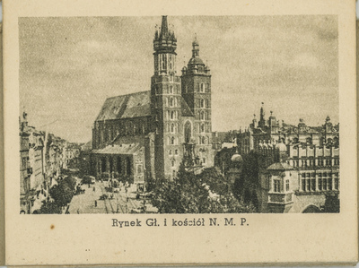 Rynek Gł. i kościół N. M. P.