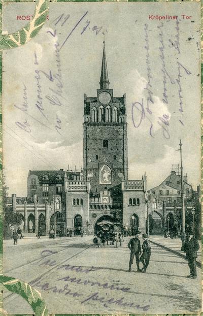 Rostock. Kröpeliner Tor