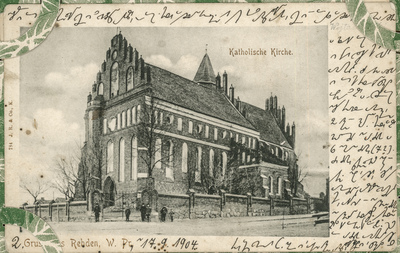 Gruss aus Rehden, W. Pr. Katholische Kirche