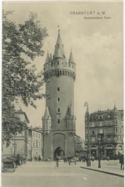 Frankfurt nad Menem - wieża Eschenheim