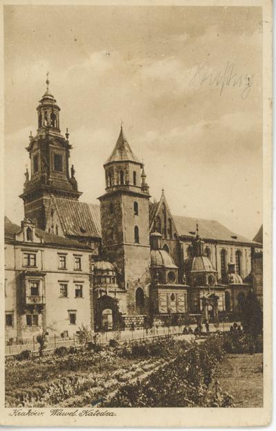 Kraków. Wawel Katedra.