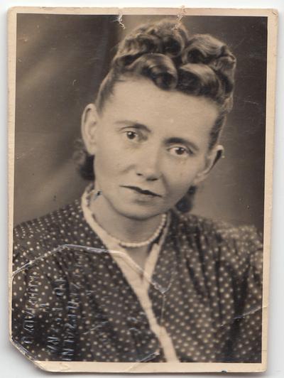 Portret Marii Dudek