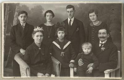 Pamiątka 25-lecia ślubu Teofila i Honoraty Czerniewskich