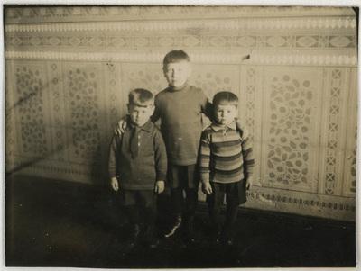 Portret synów Katarzyny i Walentyna Czerniewskich