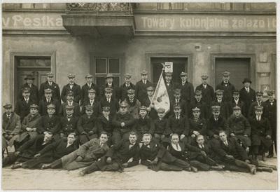 Portret zbiorowy członków Przysposobienia Wojskowego