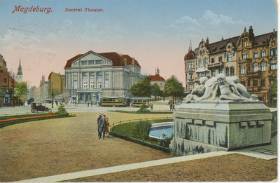 Magdeburg. Zentral-Theater.