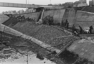 Bootsschleuse Staustufe Koblenz/Mosel