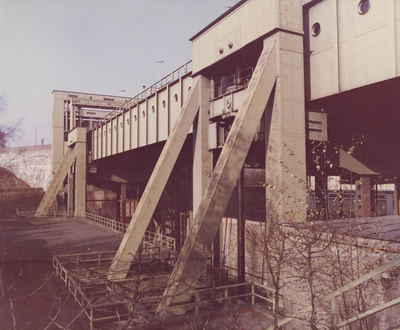 Schiffshebewerk Rothensee vor Generalreparatur 1979-1981