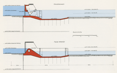 Bau Kulturwehr Kehl/Straßburg am Rhein