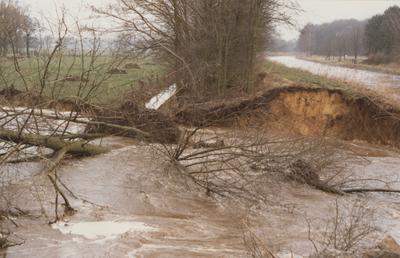 Dammbruch am Stichkanal Osnabrück