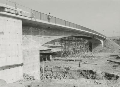 Kanalbrücke Besigheim/Neckar im Bau