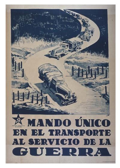 Mando único en el transporte al servicio de la guerra.