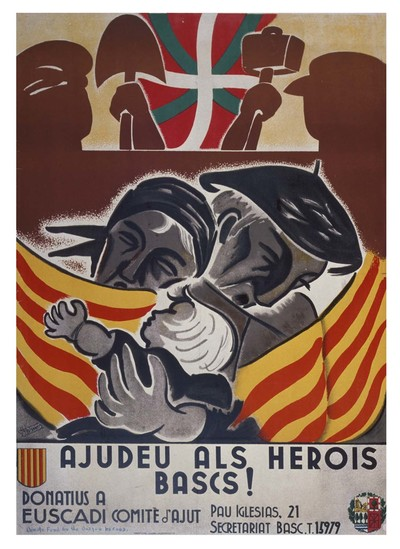 Ajudeu als herois Bascs! Donatius a euscadi comité d'ajut.