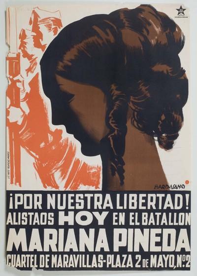 ¡Por nuestra libertad! Alistaos hoy en el batallón Mariana Pineda. ... 2 de mayo, no. 2.