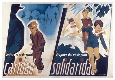 Antes del 19 de julio, caridad; después del 19 de julio, solidaridad.